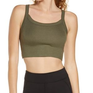 NWT Free People Movement Riding High Crop Tank
